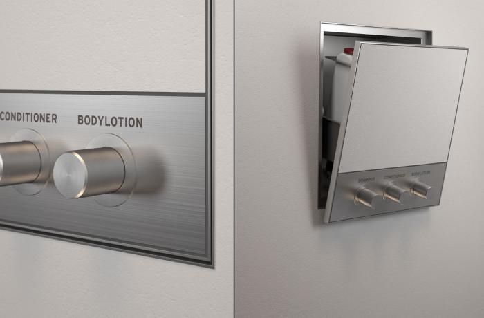 InBox Swiss Dispenser for 3 bottles